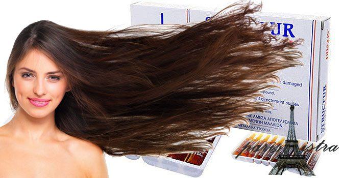 Ампулы Structur — мгновенное восстановление безжизненных, посеченных и ослабленных волос